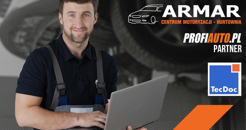 Sklep z częściami i akcesoriami samochodowymi